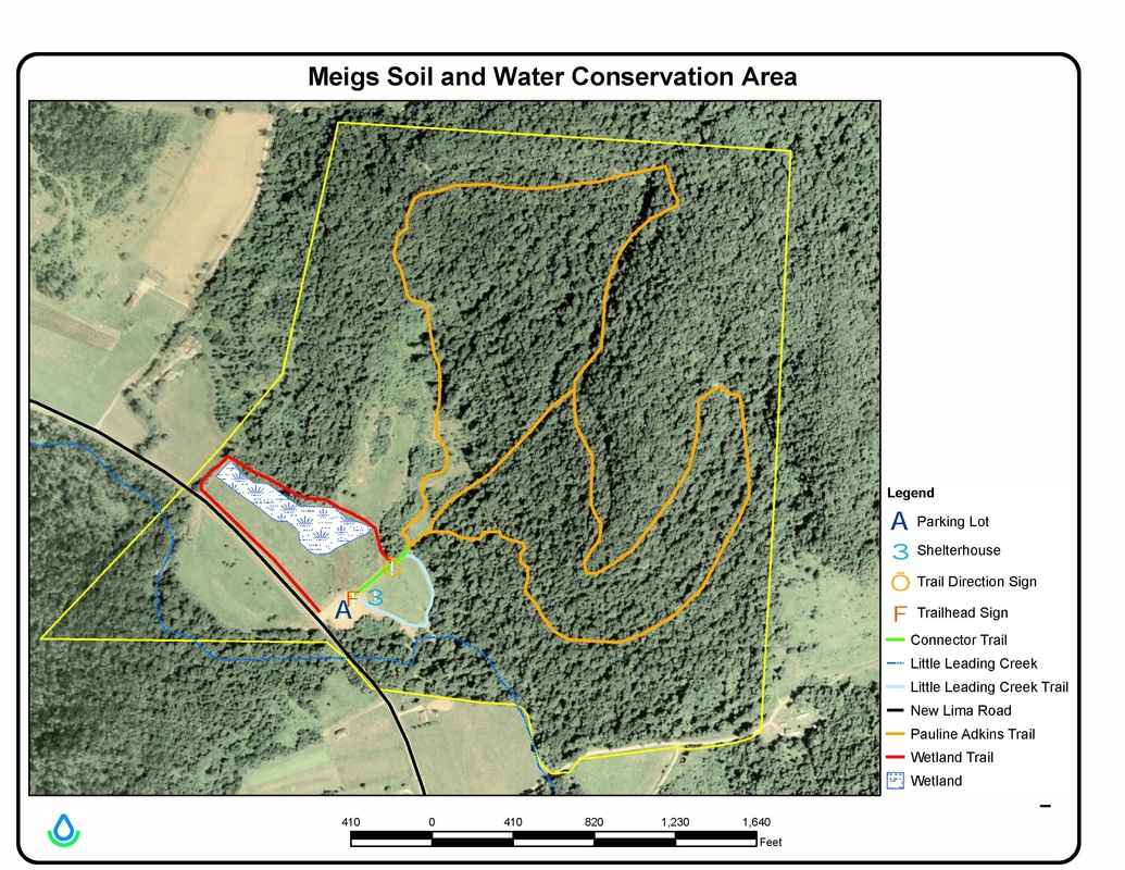 Conservation area meigs soil and water conservation district for Soil and water conservation